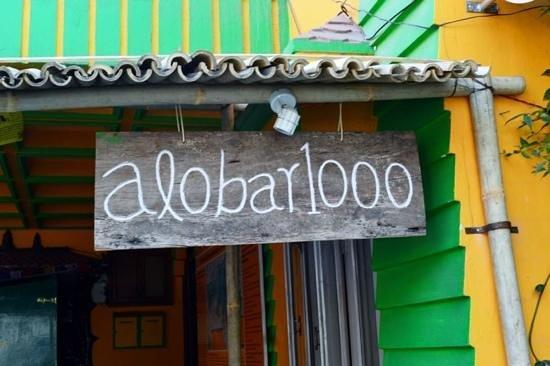 Alobar1000 Hostel : colourful place