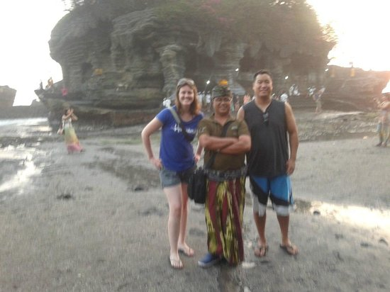 Seecobali Tours: Nyoman and his Canadian friend