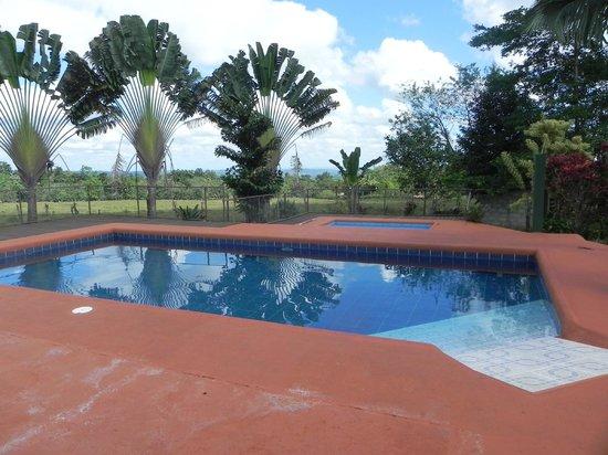 Area de piscinas picture of hotel faro arenal la - Piscina san carlo ...