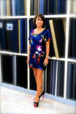 Italian Silk Dress - Picture of Magnifique Tailor, Patong