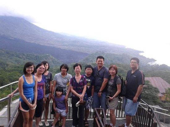 Seecobali Tours: Kintamani overlooking the crater and lake Batur