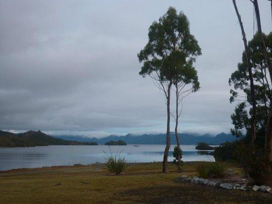 Pedder Wilderness Lodge: Lake Pedder from the Chalet 1