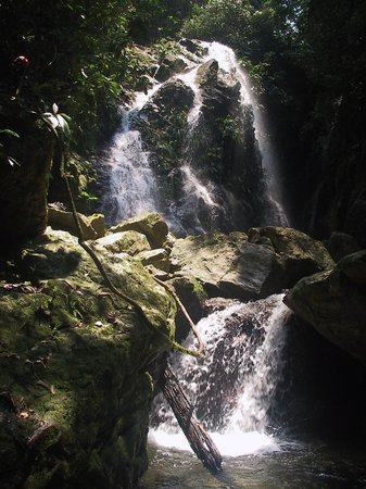 Las Cascadas Lodge : Upper falls