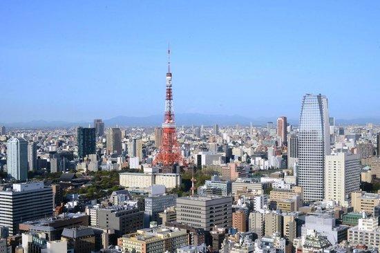 Park Hotel Tokyo: panorama diurno dal 32esimo piano