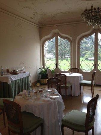 Villa d'Acquarone: sala delle colazioni