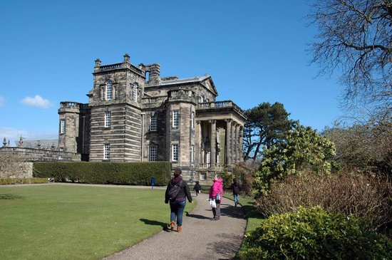 Seaton Delaval Hall: Main Hall.