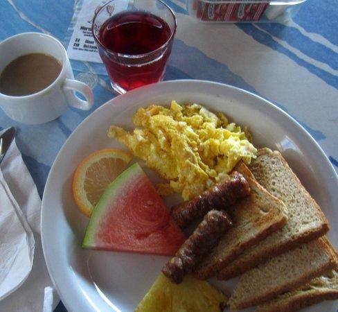 Galleon House Bed & Breakfast: Breakfast