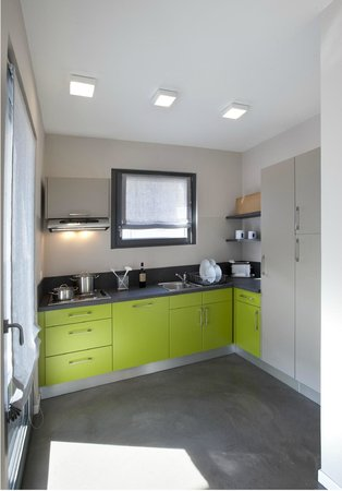 Residence Comacina: Kitchen Golfo Apartment