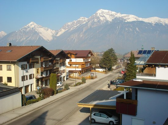 Pension Alpina: Widok z pokoju