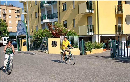 Residence Viale Venezia: Start of the bicycle tour