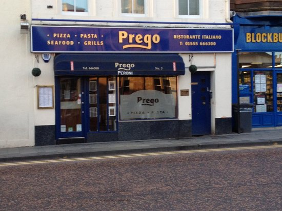 Prego: Out front