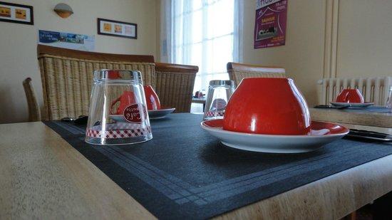 Hotel Alcyon : salle petit déjeuner