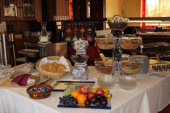 Hotel Lindwurm: Frühstücksbuffet - Auswahl
