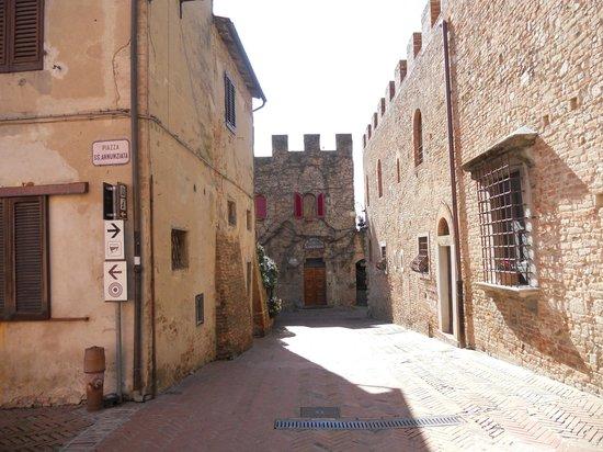Certaldo: Via Boccaccio