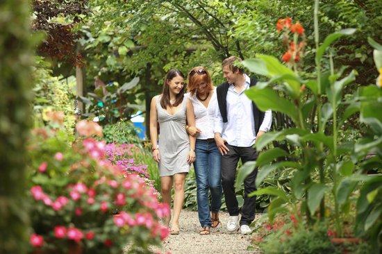 Weinlandhof: Garten zum Träumen