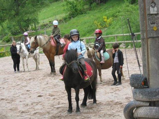 Au Pied des Chaumes : Balade à cheval à 15 min. ...