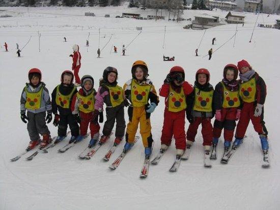Au Pied des Chaumes : Le ski à 3 km (station)