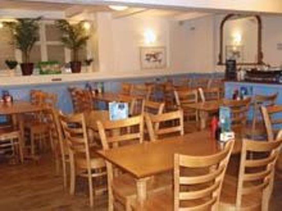 Seafoods Traditional Fish & Chips: Seafoods Fish and Chip Restaurant downstairs dining