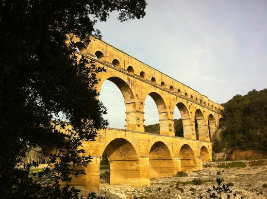 Novotel Atria Nimes Centre : nearby Aquaduct