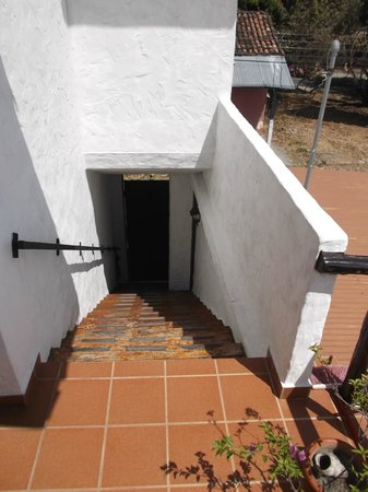 San Carlos Beach Inn : Du haut de l'escalier - 4 mars 2013.