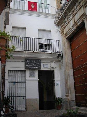 Rincón de las Nieves: Entrada de la casa
