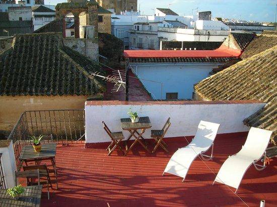 Rincón de las Nieves: Solarium-mirador