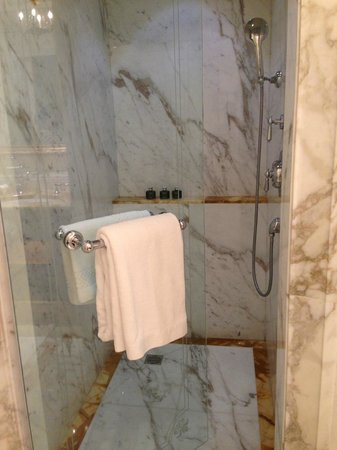 Four Seasons Hotel Firenze: Shower/Bathroom