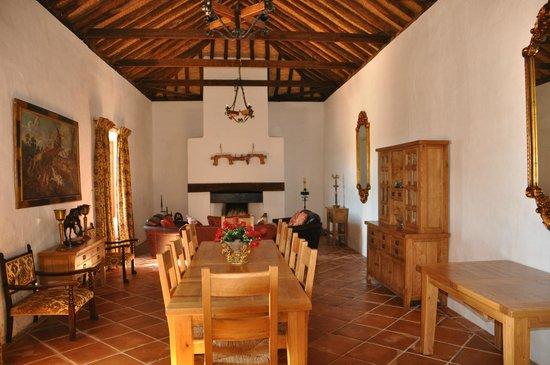 Hacienda Horses: Chapel dining room