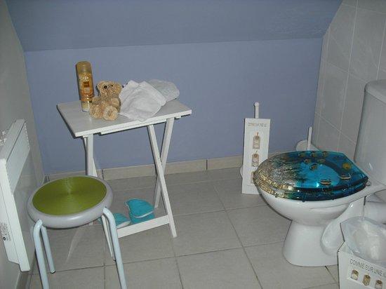 Au Temps des Cerises : coin toilette