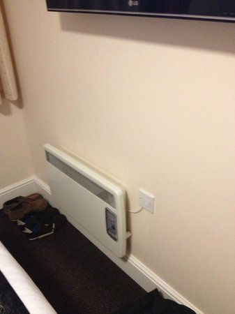 The Orchard Hotel Gloucester: electric radiator