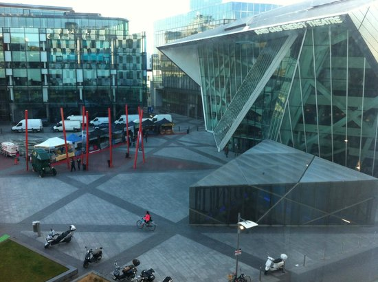 The Marker Hotel: Bord Gais Theatre view from Room