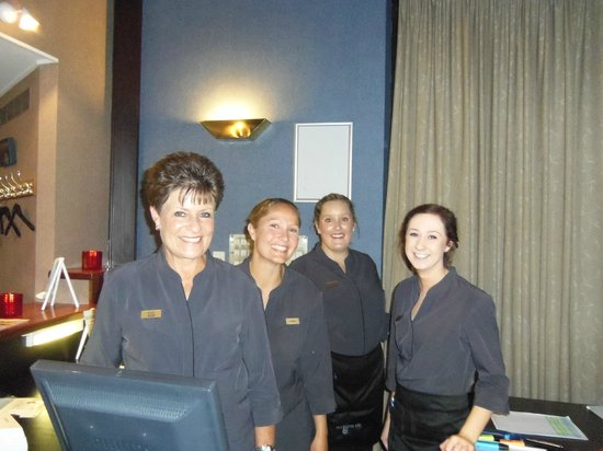 Ascot Park Hotel: Friendly staff