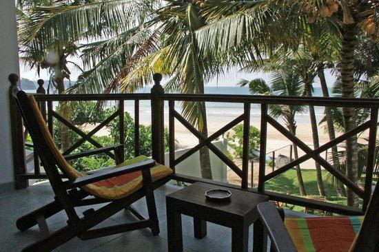 Aussie Swiss Beach Resort: View from my Balcony