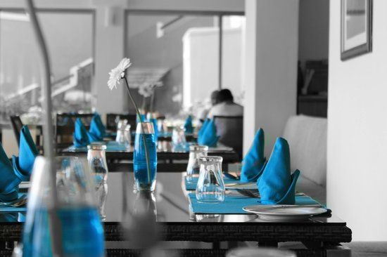 Cidade de Goa: Dining area