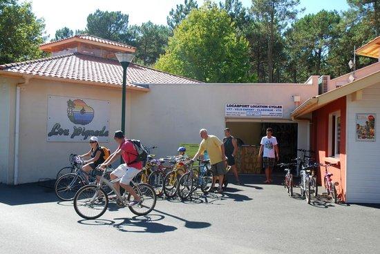 Lou Pignada: location vélo