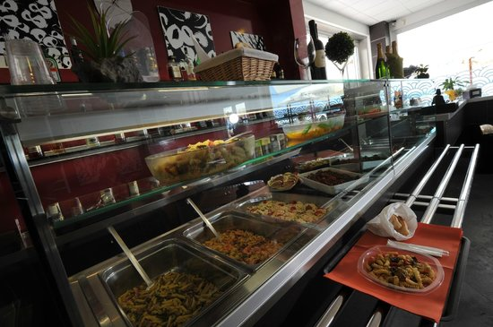 Hotel Miramare: La tavola calda