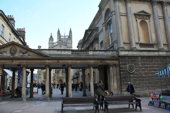 Harington's City Hotel: Roman Baths & Bath Abbey