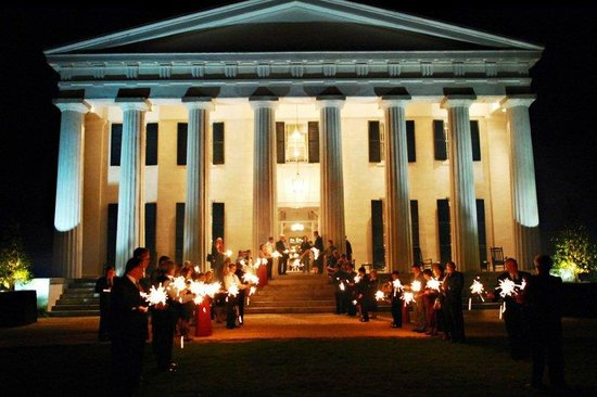 Berry Hill Resort & Conference Center: Sparklers