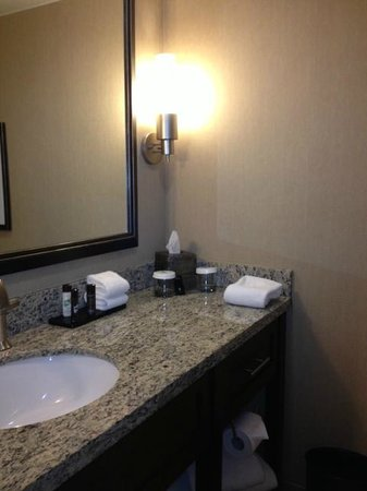Embassy Suites by Hilton Hotel Des Moines Downtown: sink