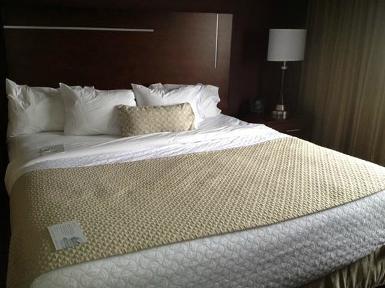 Embassy Suites by Hilton Hotel Des Moines Downtown: Bed room 609