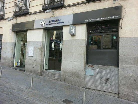 Restaurante Samurai.