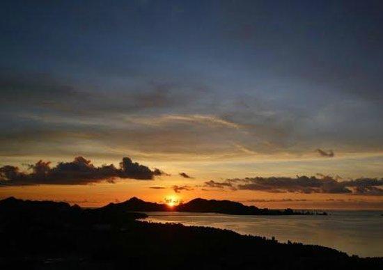 Palasia Hotel Palau: パレイシアホテル屋上からの夕景です