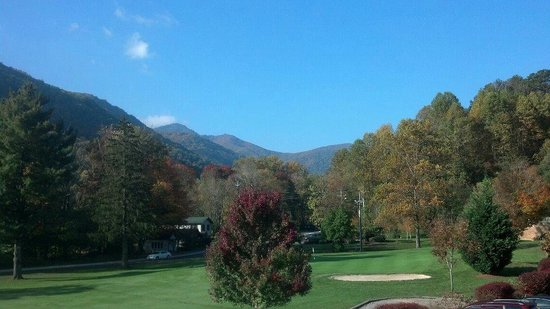 Maggie Valley Club & Resort: Awesome golf course snuggled in Great Smoky Mountains!