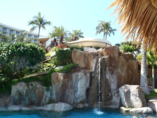 The Westin Maui Resort & Spa, Ka'anapali: pool waterfall