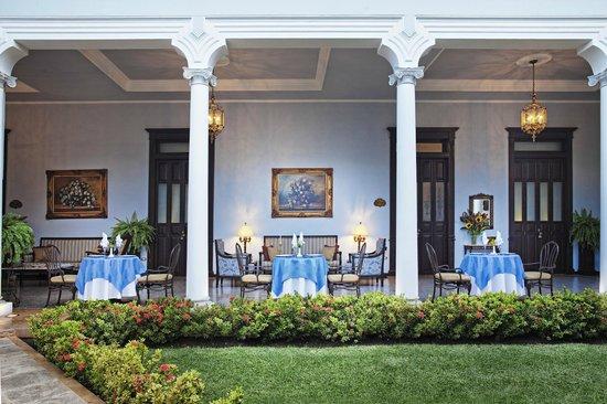Casa Azul Hotel Monumento Historico: Dinning area