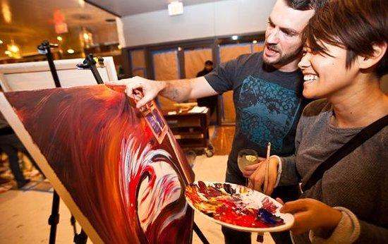ArtJamz Dupont Studio: couple painting