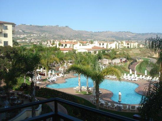Terranea Resort: The pool area