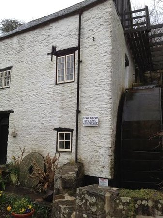 Hele Corn Mill and Tea Room: the working water mill