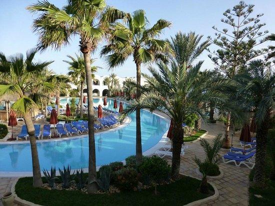 SENTIDO Djerba Beach: uitzicht van kamer 2159