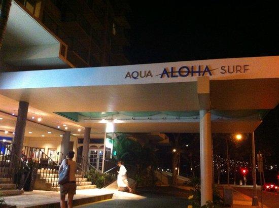 Aqua Aloha Surf Waikiki: Eingangsbereich